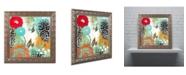 """Trademark Global Color Bakery 'Bali I' Ornate Framed Art - 11"""" x 11"""""""