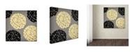 """Trademark Global Color Bakery 'English Garden VI' Canvas Art - 35"""" x 35"""""""