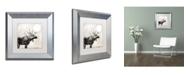 """Trademark Global Color Bakery 'Going Wild V' Matted Framed Art - 11"""" x 11"""""""