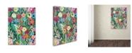 """Trademark Global Carrie Schmitt 'Into the Depths' Canvas Art - 35"""" x 47"""""""
