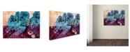 "Trademark Global Natasha Wescoat '033' Canvas Art - 14"" x 19"""