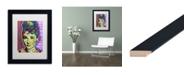 """Trademark Global Dean Russo 'Audrey 2' Matted Framed Art - 11"""" x 14"""""""