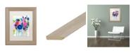 """Trademark Global Carrie Schmitt 'Aimez Beaucoup' Matted Framed Art - 11"""" x 14"""""""