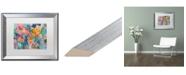 """Trademark Global Carrie Schmitt 'Exhalation' Matted Framed Art - 16"""" x 20"""""""