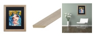 "Trademark Global Natasha Wescoat 'Crown Of Butterflies' Matted Framed Art - 16"" x 20"""