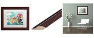 "Trademark Global Natasha Wescoat 'Epic Adventure' Matted Framed Art - 11"" x 14"""