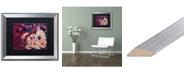 "Trademark Global Natasha Wescoat 'Little Briar Rose' Matted Framed Art - 16"" x 20"""