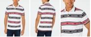 Tommy Hilfiger Men's Slim-Fit Louis Striped Logo Polo Shirt