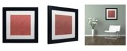 "Trademark Global Color Bakery 'Group 02 B' Matted Framed Art - 11"" x 11"""