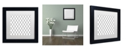 "Trademark Global Color Bakery 'Group 04 B' Matted Framed Art - 11"" x 11"""