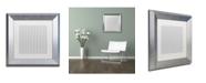"Trademark Global Color Bakery 'Group 09 B' Matted Framed Art - 11"" x 11"""