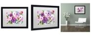 """Trademark Global Carrie Schmitt 'Blossoming' Matted Framed Art - 16"""" x 20"""""""