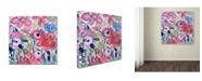 """Trademark Global Carrie Schmitt 'Beloved' Canvas Art - 24"""" x 24"""""""