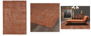 Kaleen Restoration RES01-31 Pumpkin 8' x 10' Area Rug