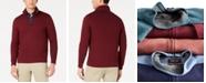 Tasso Elba Men's 1/4-Zip Supima Sweater, Created for Macy's