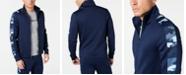 Michael Kors Men's Camo Stripe Track Jacket