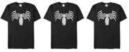 Marvel Men's Venom Distressed Venom Chest Logo Short Sleeve T-Shirt