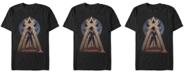 Marvel Men's Captain Marvel Pop Art Captain Marvel Short Sleeve T-Shirt
