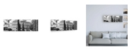 "Trademark Global Philippe Hugonnard Dolce Vita Rome 2 Rome Colosseum III Canvas Art - 36.5"" x 48"""