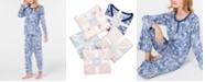 Charter Club Super Soft Textured Fleece Pajamas, Created for Macy's