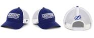 Authentic NHL Headwear Tampa Bay Lightning Mesh Bar Trucker Snapback Cap
