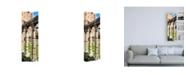"Trademark Global Philippe Hugonnard Dolce Vita Rome 2 Architecture Columns Canvas Art - 15.5"" x 21"""