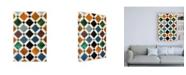 "Trademark Global Philippe Hugonnard Made in Spain Alhambra Mosaic Canvas Art - 27"" x 33.5"""