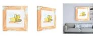 "Trademark Global Charles Swinford Charlies Bulldozer Childrens Art Canvas Art - 36.5"" x 48"""