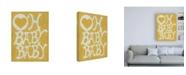 "Trademark Global Chariklia Zarris Oh Baby, Baby Canvas Art - 19.5"" x 26"""