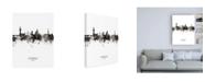 "Trademark Global Michael Tompsett Florence Italy Skyline Portrait II Canvas Art - 15.5"" x 21"""