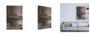 """Trademark Global Kurt Shaffer Photographs Foggy frozen marsh Canvas Art - 27"""" x 33.5"""""""