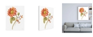 "Trademark Global Danhui Nai Floursack Autumn II on White Canvas Art - 36.5"" x 48"""