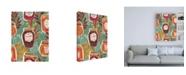 "Trademark Global Janelle Penner Spread the Love Pattern IA Canvas Art - 19.5"" x 26"""