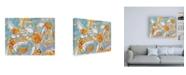 "Trademark Global Per Ander Summer Daisies Canvas Art - 15.5"" x 21"""