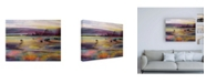 "Trademark Global Kate Boyc Balmy Summers Evening Canvas Art - 15.5"" x 21"""