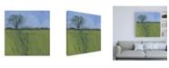 "Trademark Global Paul Baile Fenland Morning Canvas Art - 36.5"" x 48"""