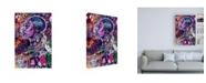 "Trademark Global Justin Copelan Black is Love Canvas Art - 15.5"" x 21"""