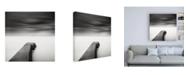 "Trademark Global Wilco Drag The Jetty Study 1 Canvas Art - 15.5"" x 21"""