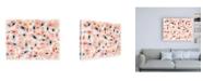 """Trademark Global Jaqui Falkenhei Flowers Boog Boogie Canvas Art - 27"""" x 33.5"""""""