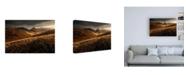 "Trademark Global Enrico Fossat Last Autumn Light Canvas Art - 27"" x 33.5"""