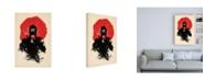 "Trademark Global Robert Farka American Ninja Canvas Art - 19.5"" x 26"""