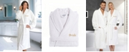 """Linum Home Terry Bathrobe with Embroidered """"Bride"""""""