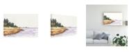 "Trademark Global Dianne Miller Solitary Coastline IV Canvas Art - 15"" x 20"""
