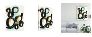 "Trademark Global June Erica Vess Cellular Structure III Canvas Art - 20"" x 25"""