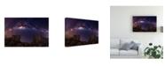 "Trademark Global Wolongshan Rocky Gate to Heaven Canvas Art - 20"" x 25"""