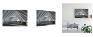 "Trademark Global Mountain Cloud Abstract Corridor Canvas Art - 20"" x 25"""