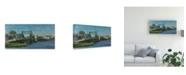 "Trademark Global Michael Budden Manasquan Bridge Canvas Art - 20"" x 25"""