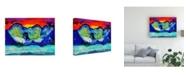 "Trademark Global Michelle Mccullough Mountain Glow Sky Canvas Art - 20"" x 25"""
