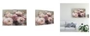 "Trademark Global Marilyn Hageman Wild Roses Neutral Canvas Art - 20"" x 25"""