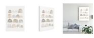 "Trademark Global Melissa Averinos Mod Neutrals IV V2 Canvas Art - 20"" x 25"""